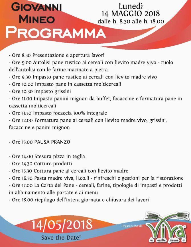 Programma Carta del Pane