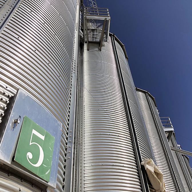 Silos di stoccaggio grano - farina ViVa