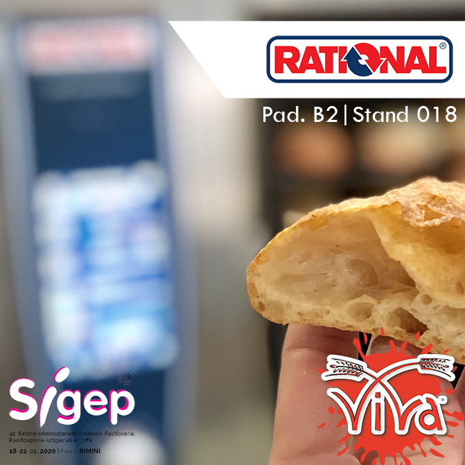 ViVa Sigep 2020 con RATIONAL AG
